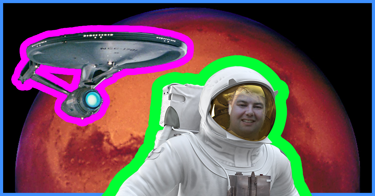 25 – Going to Mars with Technical Project Manager James Burk
