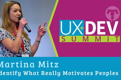 🎙️ UX+DEV SUMMIT 2018 – Martina Mitz