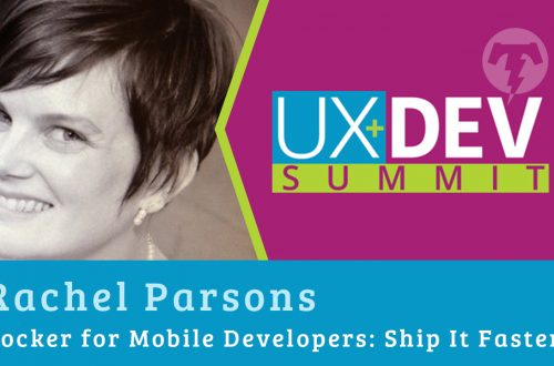 🎙️ UX+DEV SUMMIT 2018 – Rachel Parsons