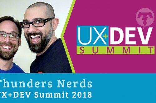 🎙️ UX+DEV SUMMIT – 2018