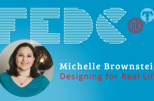 218 – Michelle Brownstein 🎙 Front End Design Conference 2019