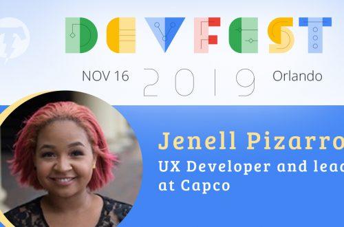 238 – 💻 Jenell Pizarro – DevFest Florida Season 2019