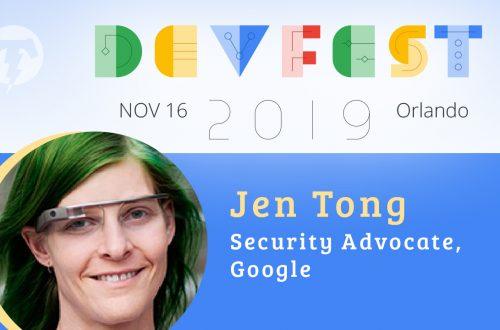 251 – 💻 Jen Tong – DevFest Florida Season 2019